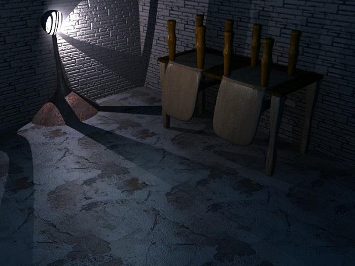 黑暗地下室