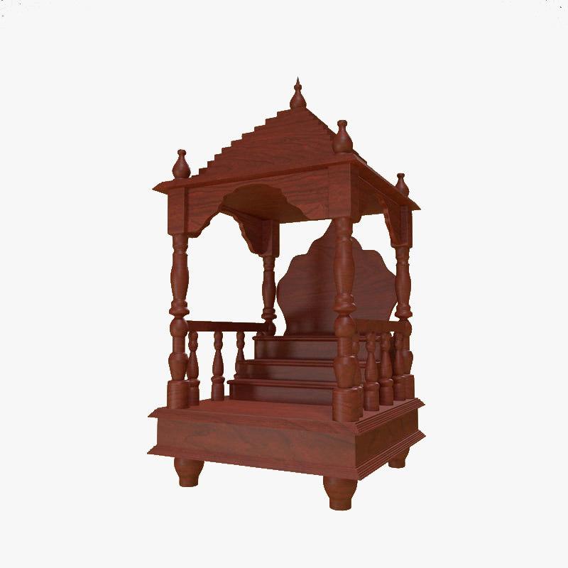 木质泰国神庙