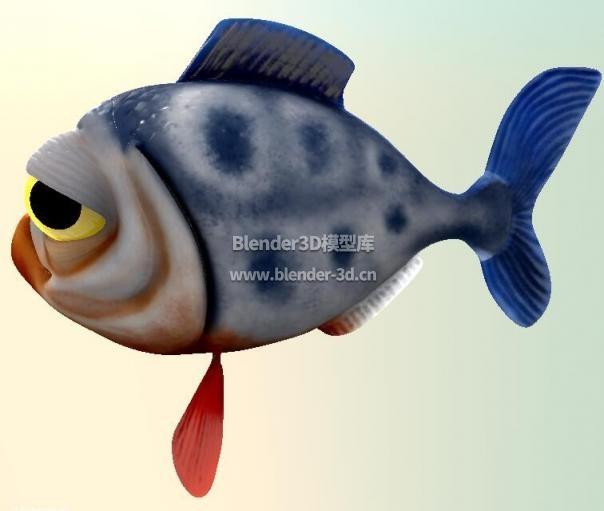 卡通食人鱼