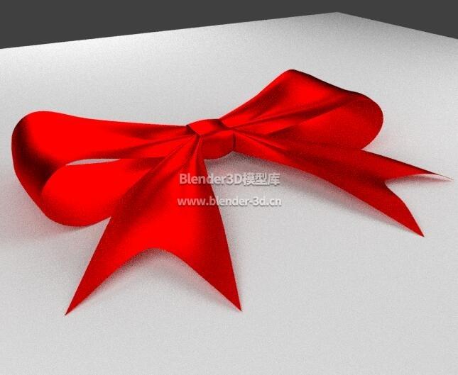 红色蝴蝶结