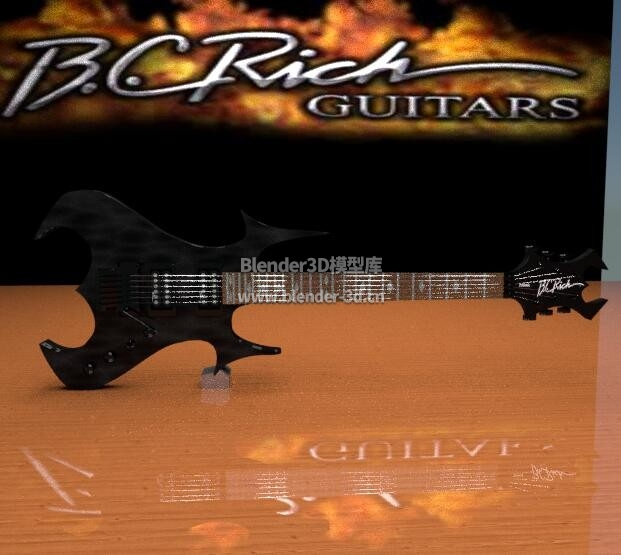 BC Rich Zombie电吉他