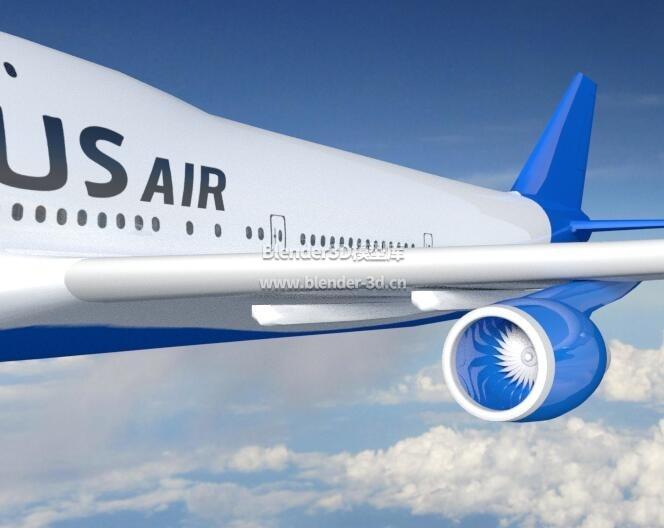波音747飞机