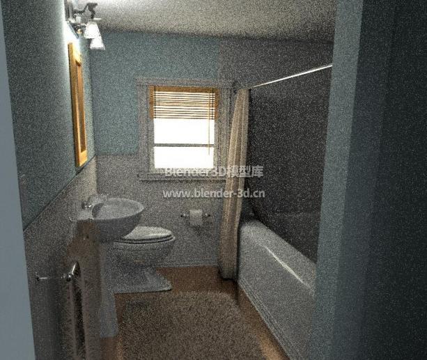 现代风格浴室