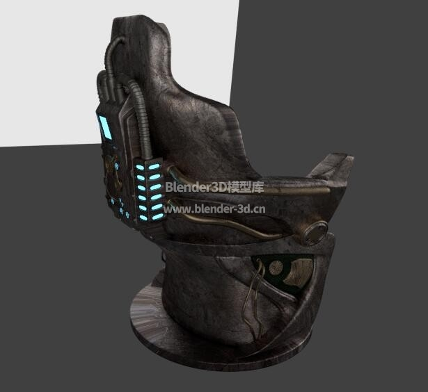 科幻飞船椅子