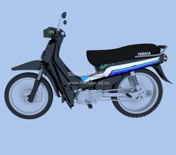 1996雅马哈阿尔法II摩托车