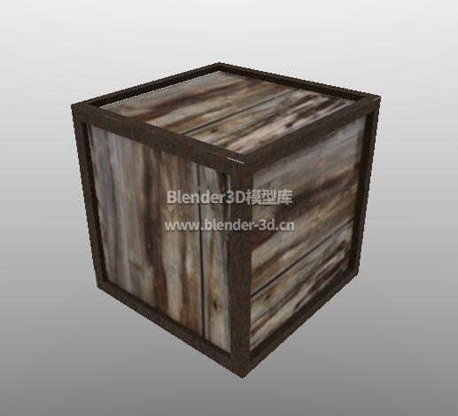 褐色板条箱