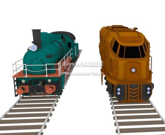 机车火车头
