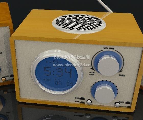 木盒收音机