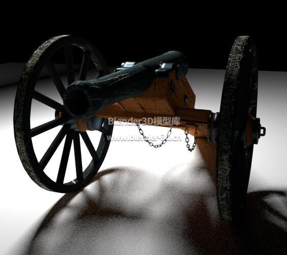老式两轮火炮