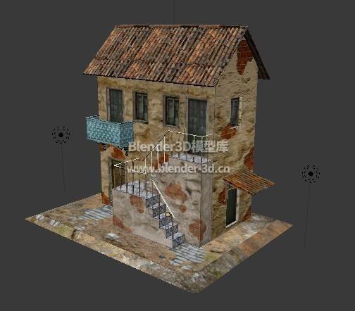 2层平民窟楼房