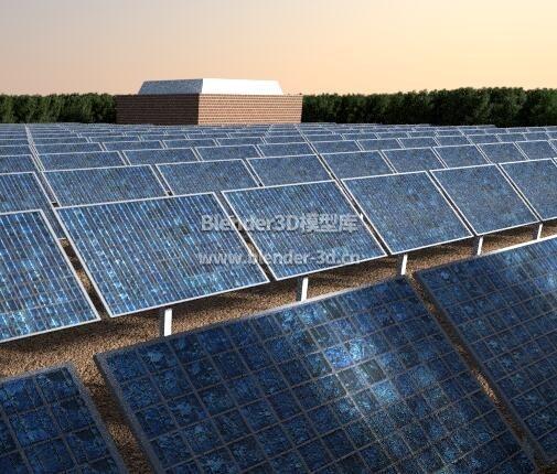 丛林太阳能发电场