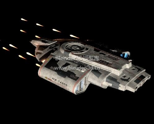 星际迷航抵抗者号飞船