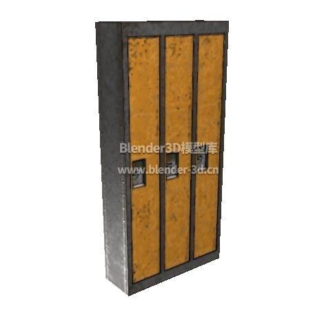 生锈储物柜