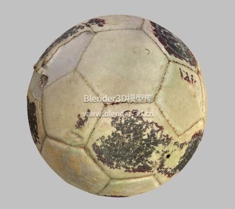 破旧的足球
