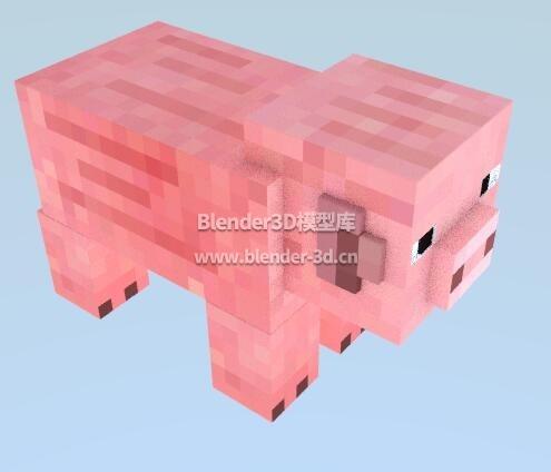 我的世界猪