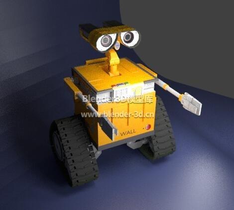 机器人瓦力Wall-e