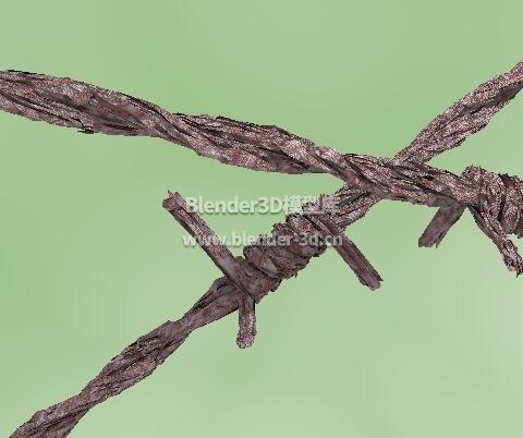 生锈铁丝结