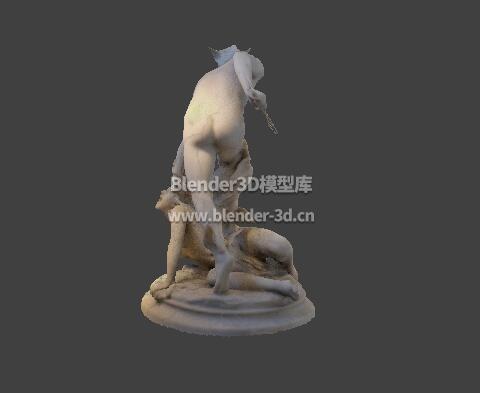 珀尔修斯与美杜莎雕像