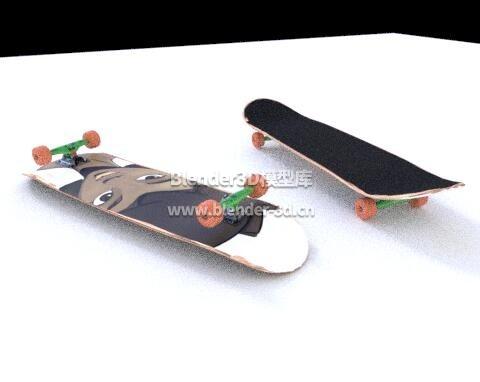 小姐姐滑板