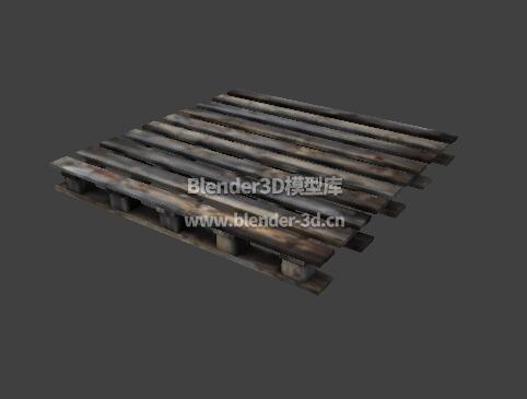 腐朽木栈板