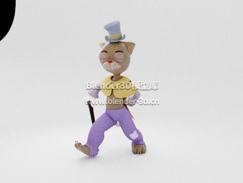 rig人形卡通猫