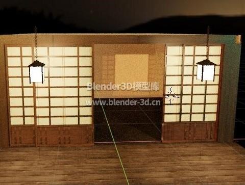 日本榻榻米房间