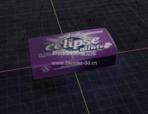 一盒薄荷糖果