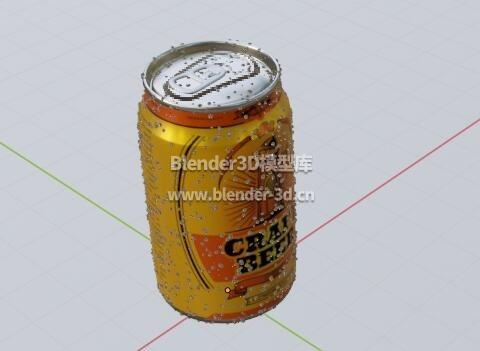 铝易拉罐啤酒