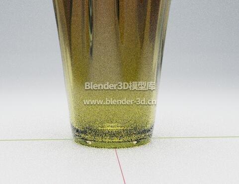 褶皱玻璃花瓶