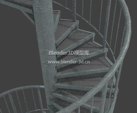 不锈钢螺旋楼梯