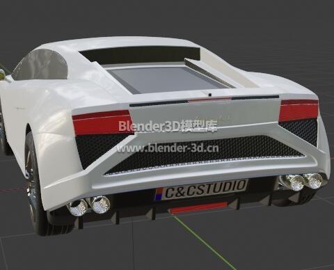 2013兰博基尼盖拉多跑车