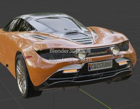McLaren迈凯伦720S跑车