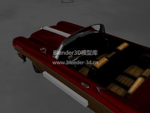 红色道奇皇家汽车