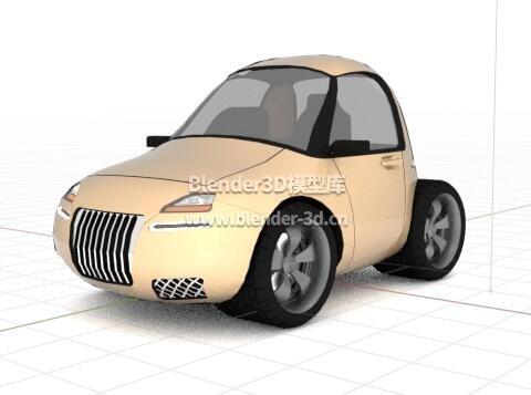 卡通smart汽车