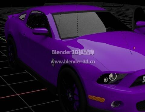 福特Shelby GT500跑车