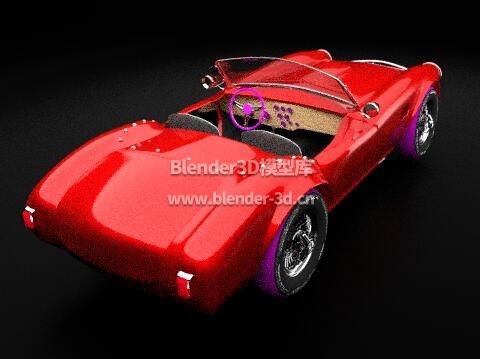 红色AC眼镜蛇269跑车