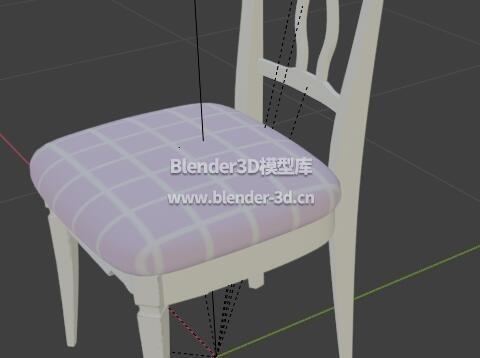 坐垫靠背椅子
