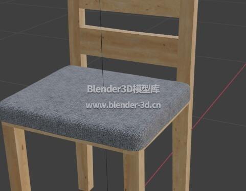 软垫木椅子