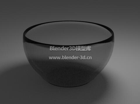 暗色玻璃碗