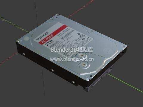 东芝Toshiba P300 2TB机械硬盘