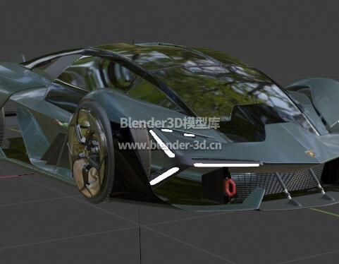 兰博基尼Terzo Millennio概念跑车