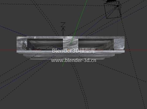 灰色木栈板托盘