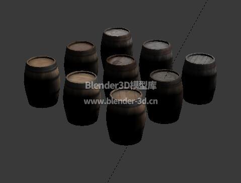 9种木酒桶