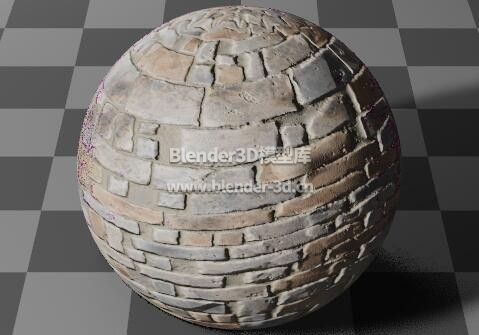石砖行道砖墙壁