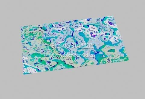 水波纹抽象艺术画框