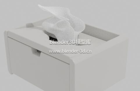 塑料抽纸巾盒