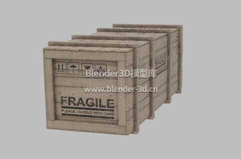 长方形板条箱