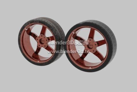 BBS干净脏污两种汽车轮胎