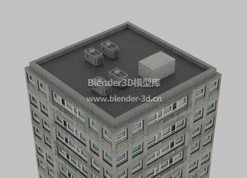 四方形高楼大厦商业写字楼