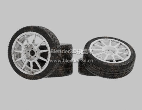 脏污WRC车轮